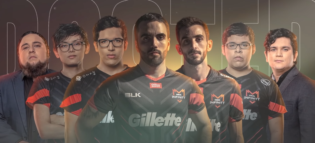 infinity esports, roster, 2020