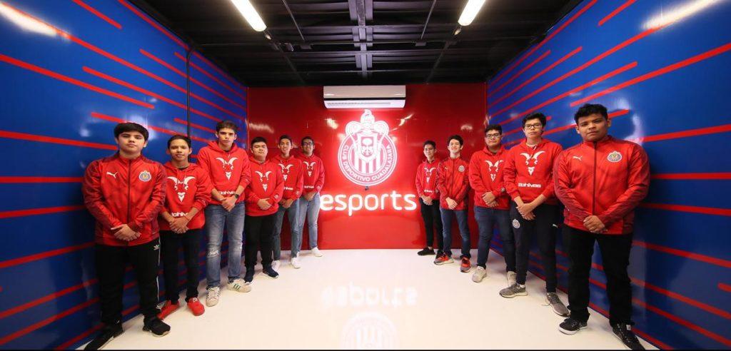 chivas, guadalajara, esports, game room
