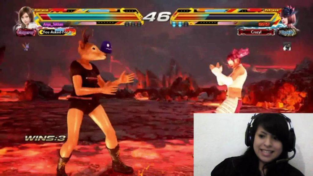 Anya Tekken Combate