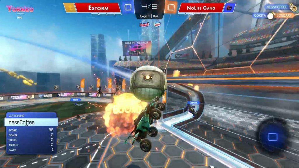 Nesscoffee Rocket League