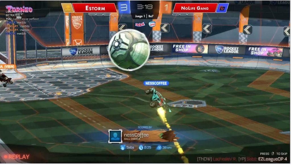 Nesscoffee Gol Rocket League