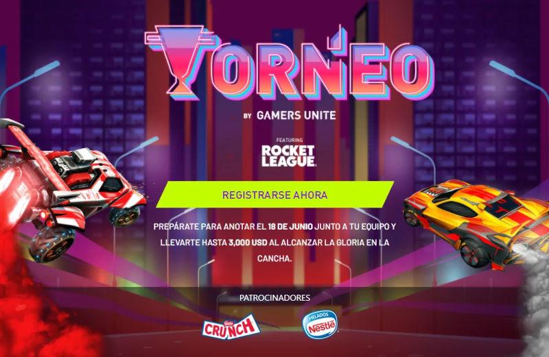 Gamers Unite anuncia 2a. edición del Torneo Rocket League