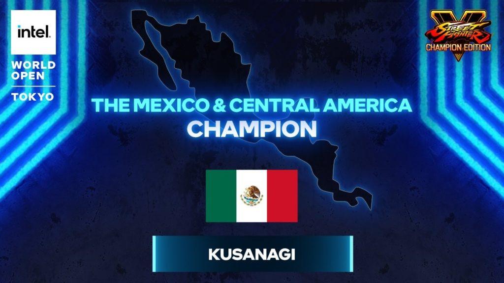 Intel World Open Kusanagi Mexico