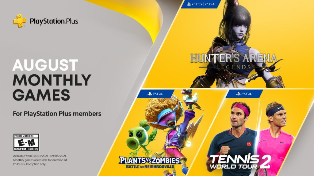PlayStation Agosto