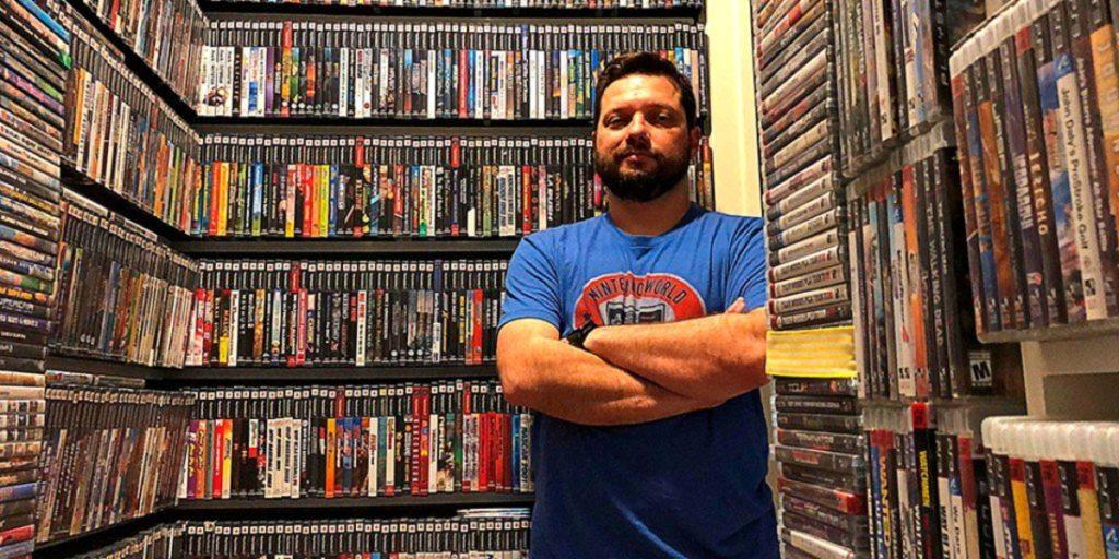 Antonio Monteiro coleccionista de videojuegos