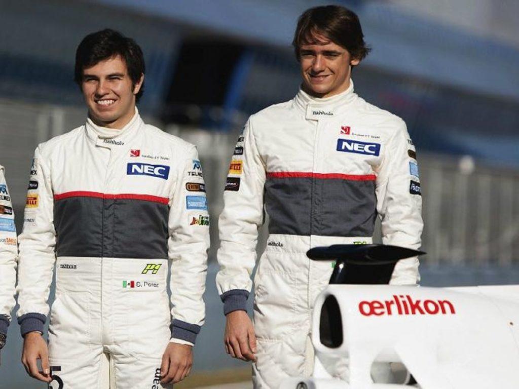 Checo Perez y Esteban